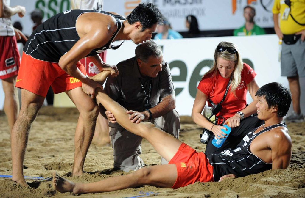 Blessures-volleyball