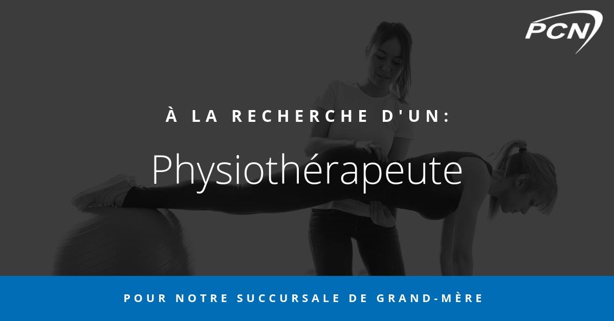 offre d'emploi physiothérapie