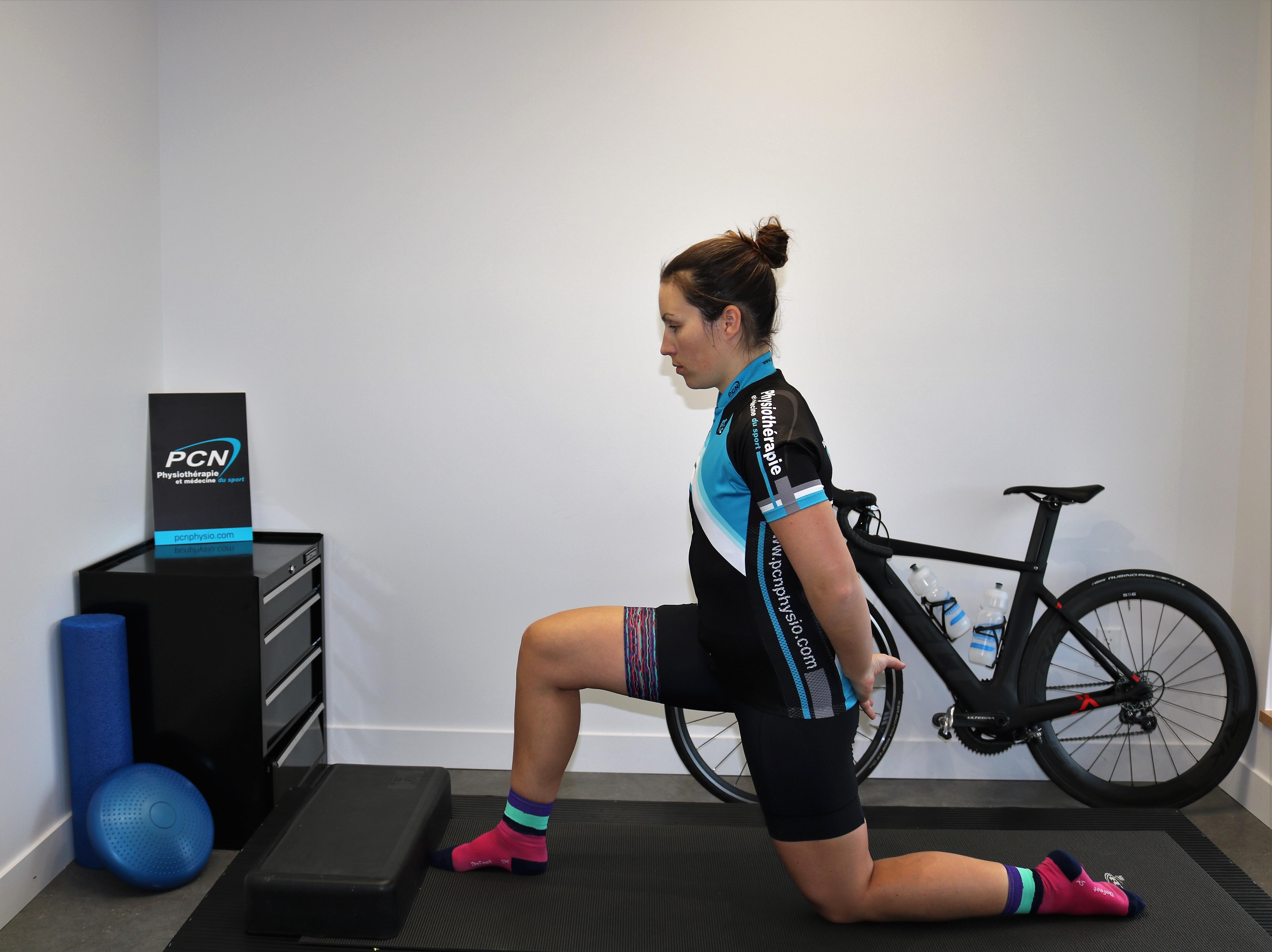 étirements efficaces pour cycliste