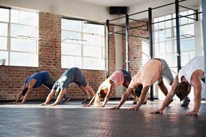 yoga pour genoux