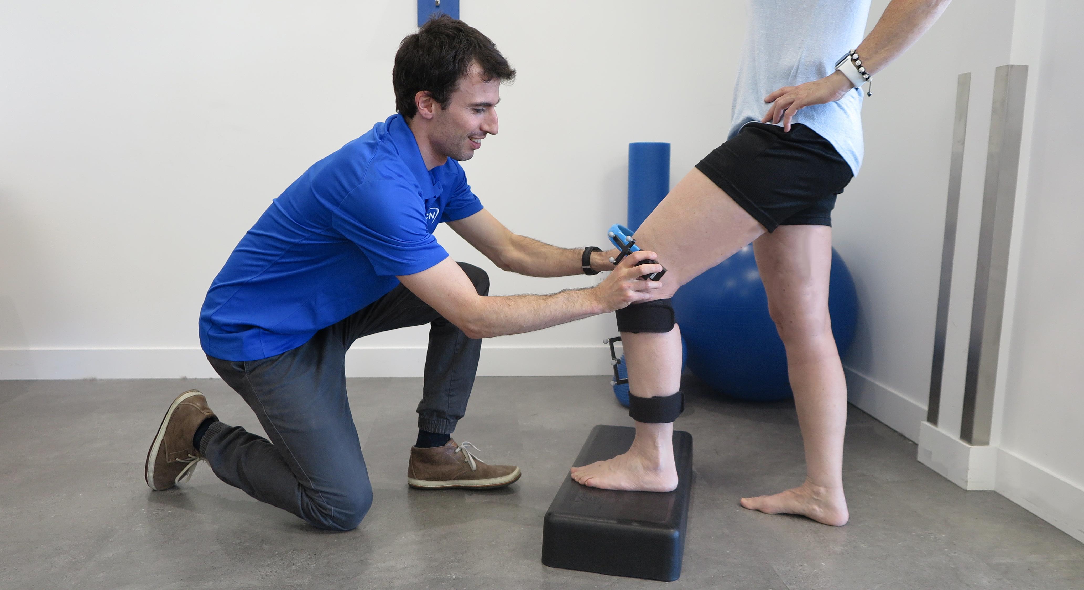 Douleurs au genou+KneeKG