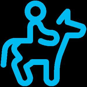 Logo équitation